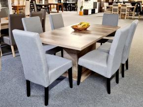Dobozlábú asztal Berta székkel 6 személyes