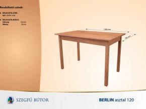 Berlin asztal 120