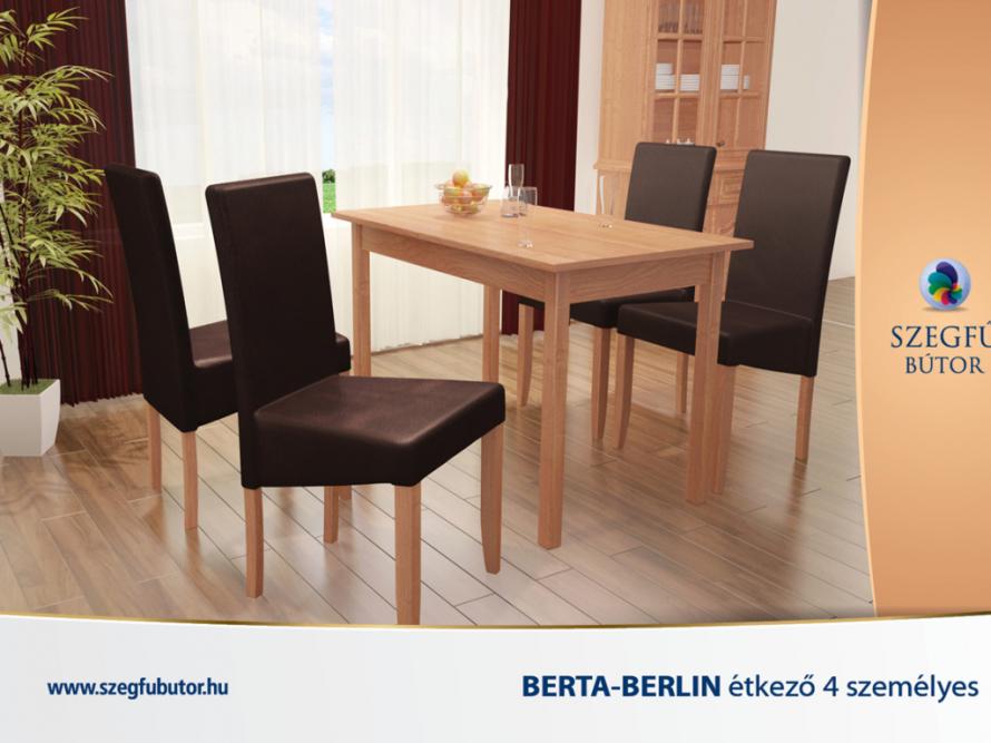 Berta-Berlin étkező 4 személyes
