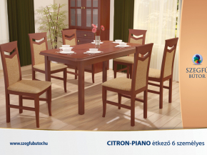 Citron-Piano étkező 6 személyes