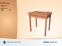 Fiona asztal 70