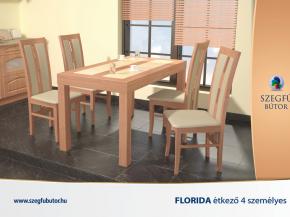 Florida-Florida üveges étkező 4 személyes