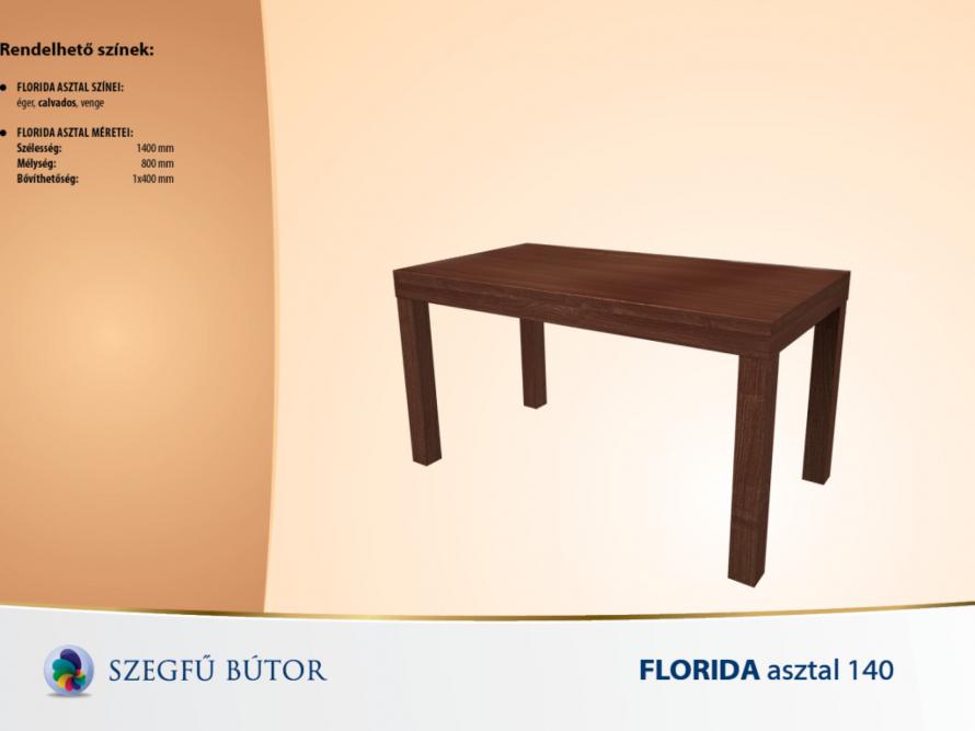 Florida asztal 140