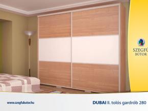 Dubai II. tolós gardrob 280