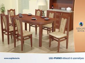 Lili-Piano étkező 6 személyes