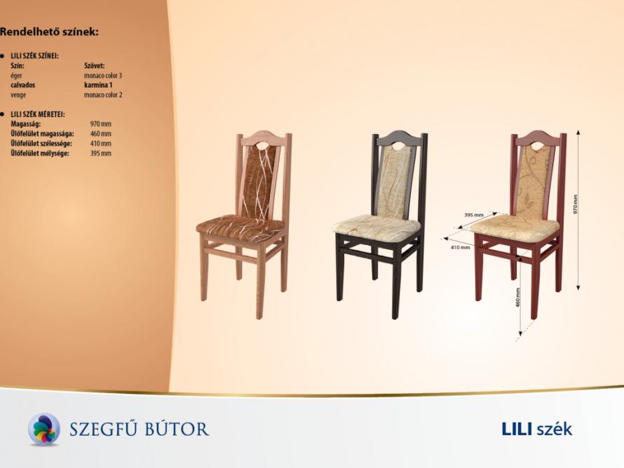 Lili szék