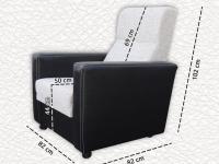 Kocka karos komfort fotel
