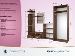 Maxx nappalisor 320 elemenként