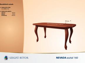 Nevada asztal 160