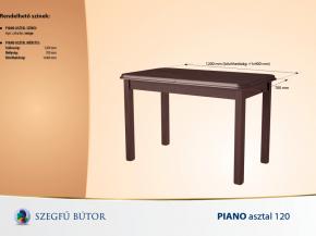 Piano asztal 120