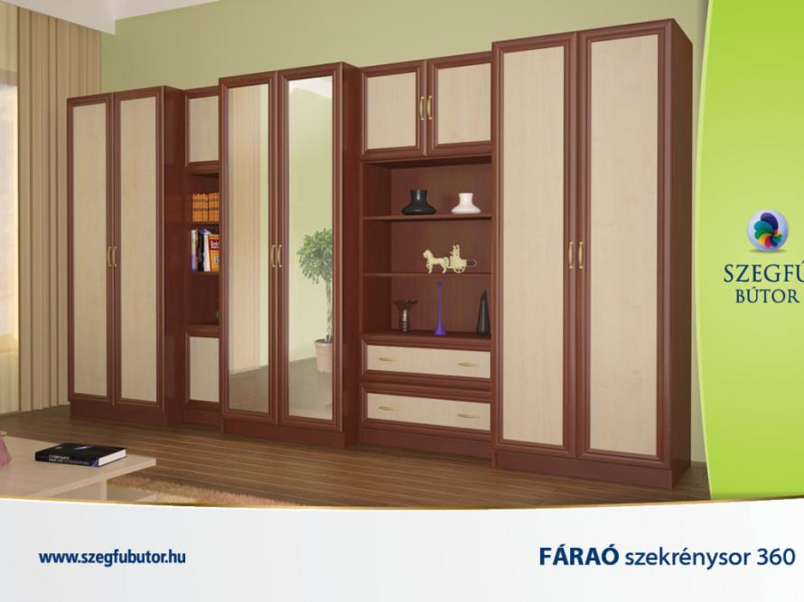 Fáraó szekrénysor 360 Bolzano tölgy/Világos sonoma