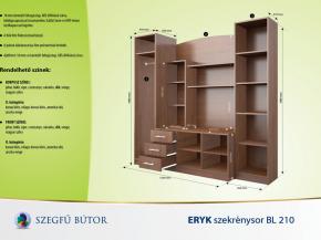 Eryk szekrénysor BL 210 elemenként