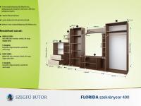 Florida szekrénysor 400 elemenként