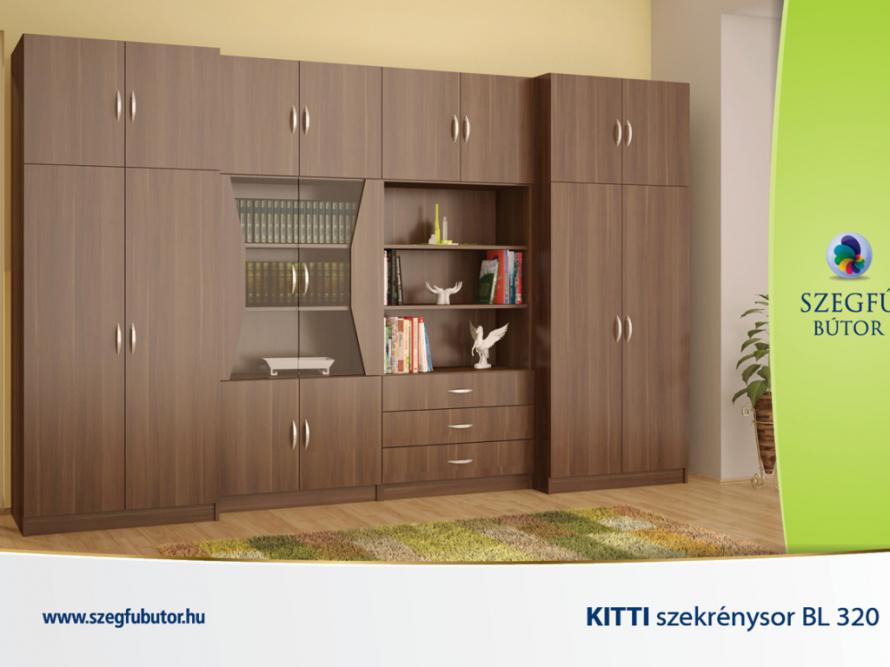 Kitti szekrénysor BL 320