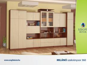 Milánó szekrénysor 360