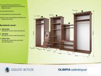 Olimpia szekrénysor 360