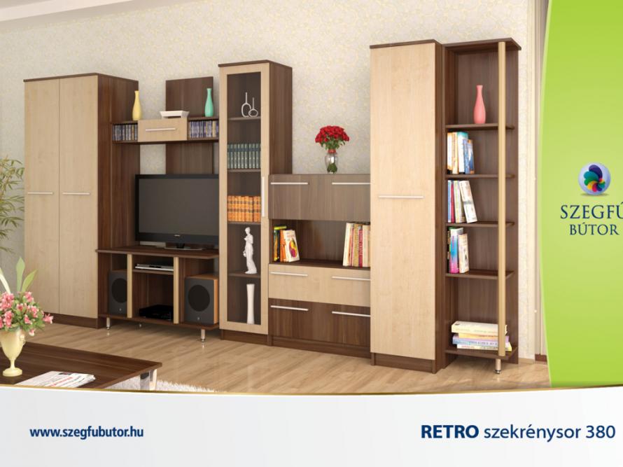 Retro szekrénysor 380