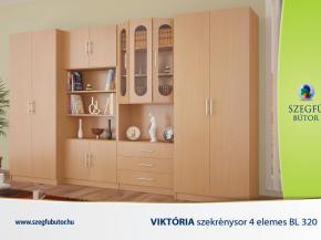 Viktória szekrénysor 4 elemes BL320