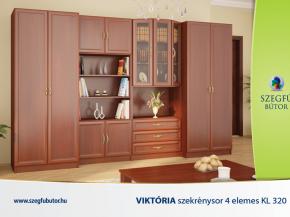 Viktória szekrénysor 4 elemes KL 320