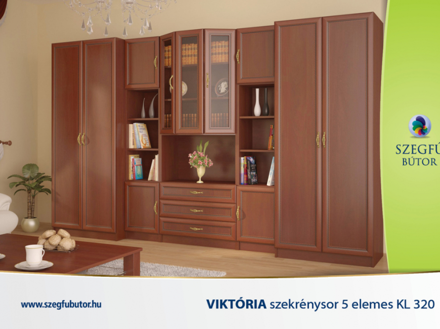 Viktória szekrénysor 5 elemes KL 320