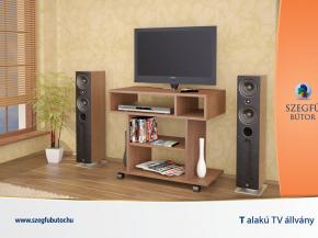 T alakú TV állvány
