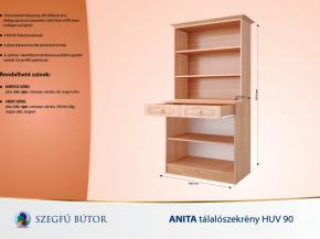 Anita tálalószekrény HUV 90 elemenként