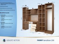 Fanny tanulósor 250