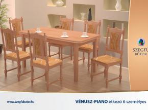 Vénusz-Piano étkező 6 személyes